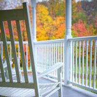 Fall outdoor spaces decor