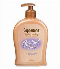 Coppertone Sunless Tanning Gradual Tan Moisturizing Lotion