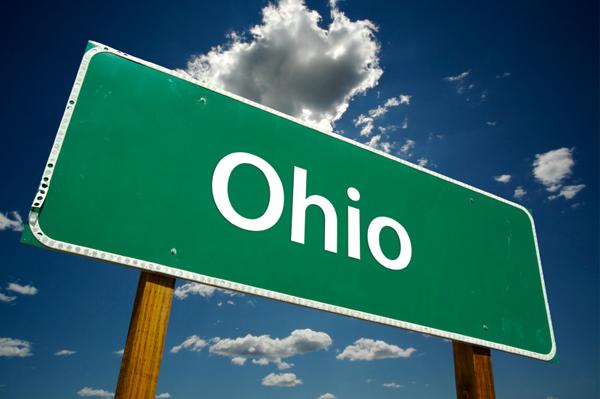 Ohio Street Sign