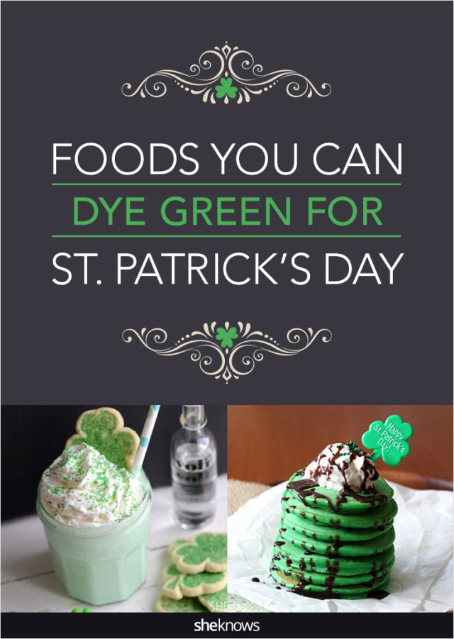 foods you can dye green