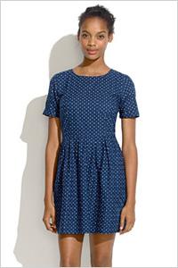 Madewell Hazy Dot dress