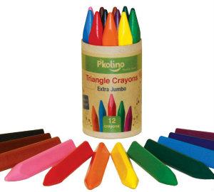 P'Kolino extra jumbo triangular crayons