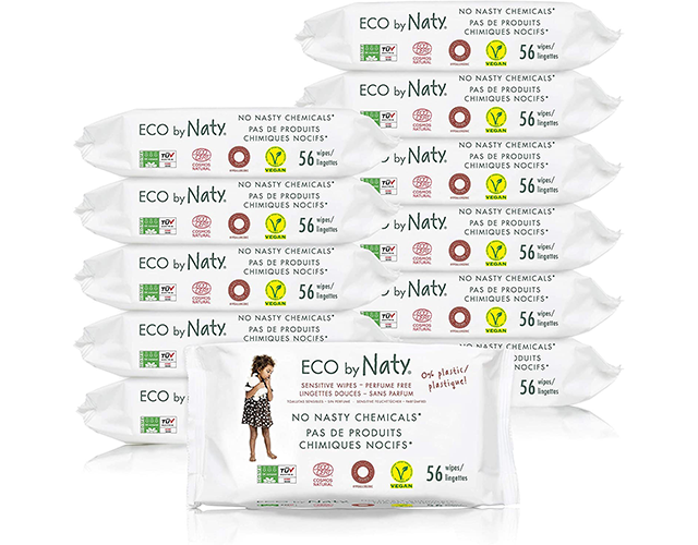 Eco by Naty Best Unscented Baby Wipes on Amazon