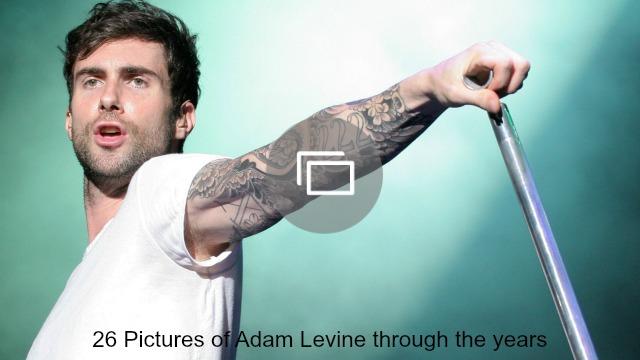 adam levine through the years