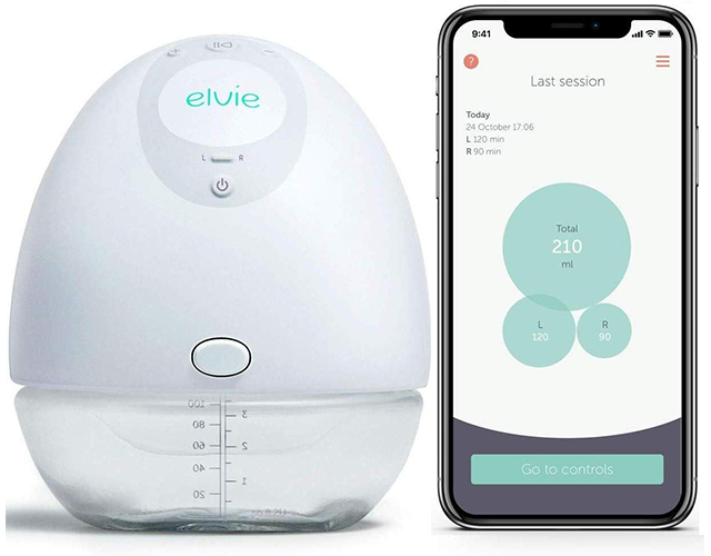 Elvie Best Portable Breast Pump on Amazon