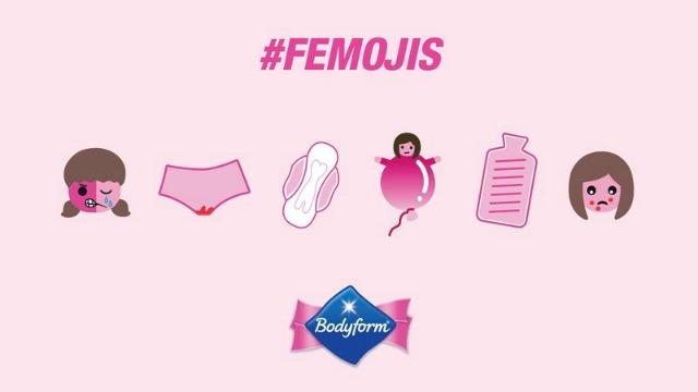 Bodyform femojis