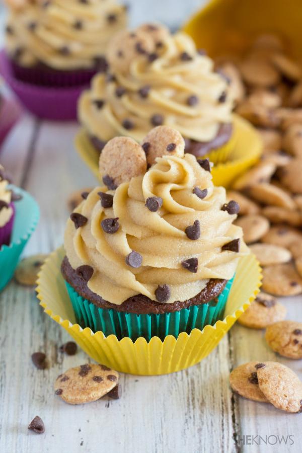 Cookie Crisp cupcakes