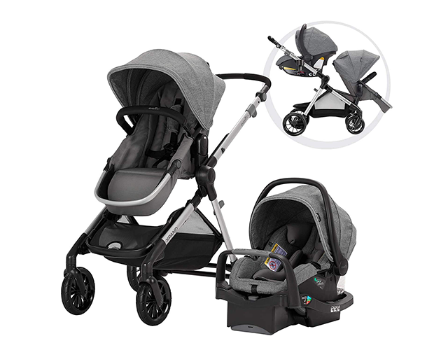 Evenflo Best Lightweight Double Stroller on Amazon