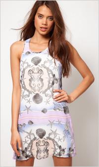Our pick:Mermaid Print Dress, $92, ASOS.com