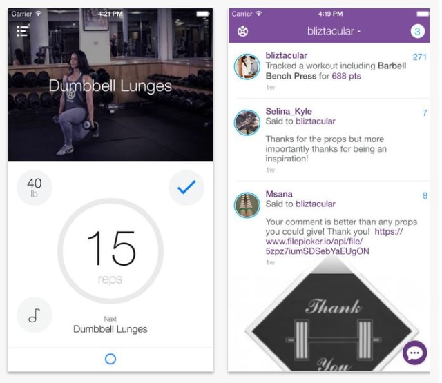 Fitocracy app
