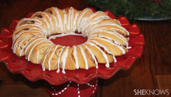 Christmas Morning Tea Ring