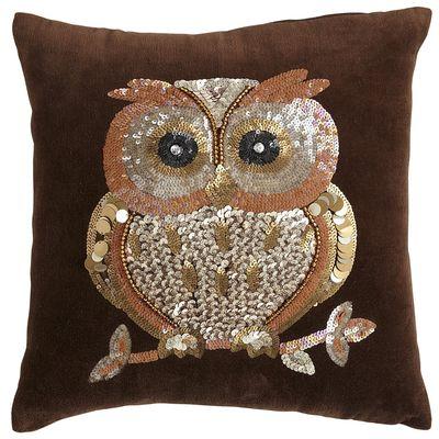 Pier 1 owl pillow