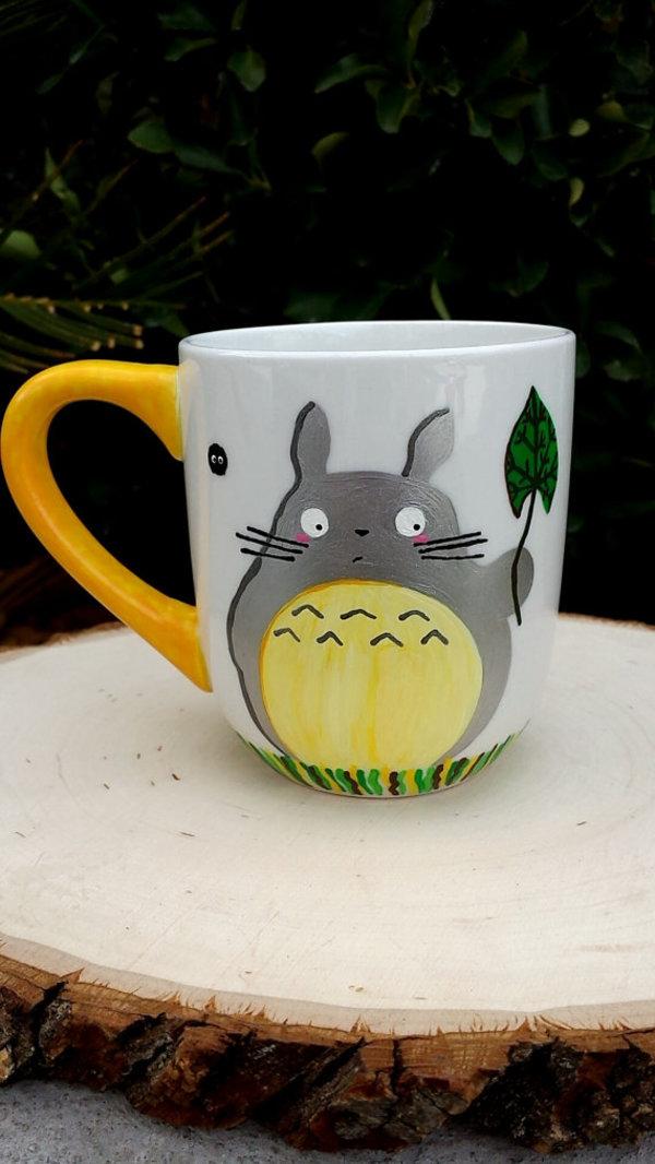 Totoro merchandise from the film My Neighbor Totoro