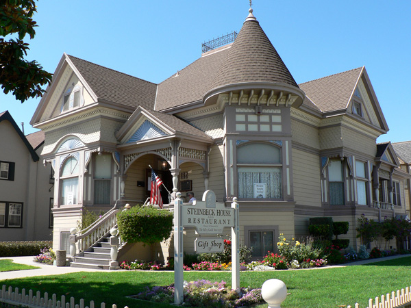 John Steinbeck home in Salinas, California
