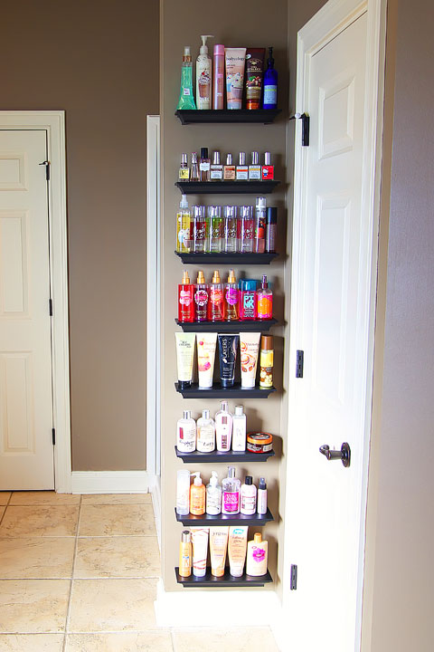 Beauty product overload