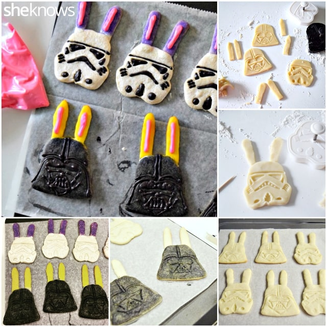 How to make Star Wars cookies with bunny ears