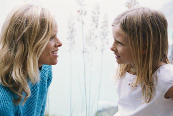 mother daughter conversation