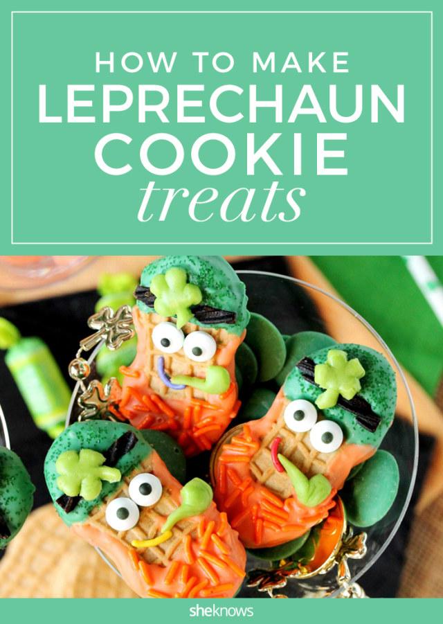 leprechaun cookie treats
