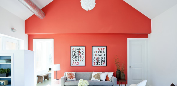 Create a colorful focal point
