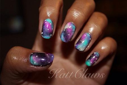 Katt Claws: Galaxy Nails