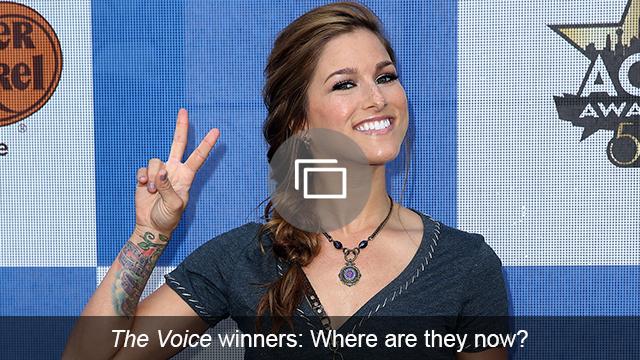 The Voice winners slideshow