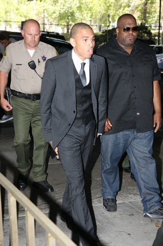 Chris Brown hears his verdict: 5 years probation