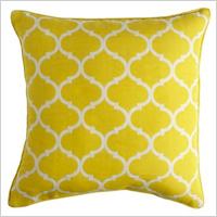 Cabana geometric pillow