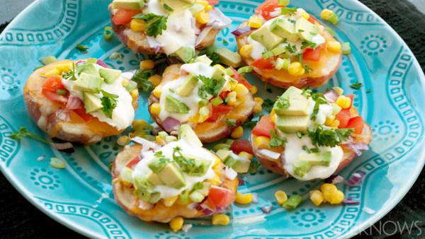 Tex-mex stuffed potato poppers recipe