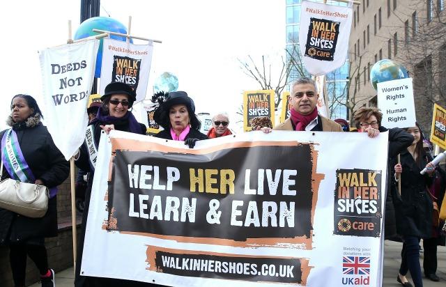 IWD march London 2016