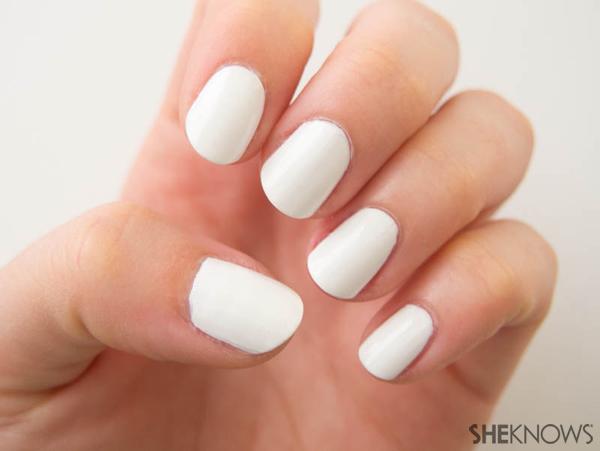 Cookie swap party nails | Sheknows.com -- base