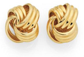 Goldmark knot earrings