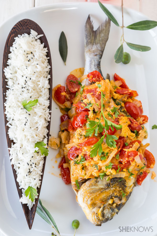 Fish sarciado recipe