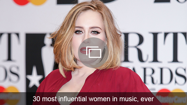 influential women in music slideshow