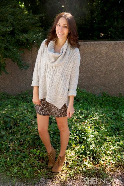 kohls sweater with skirt
