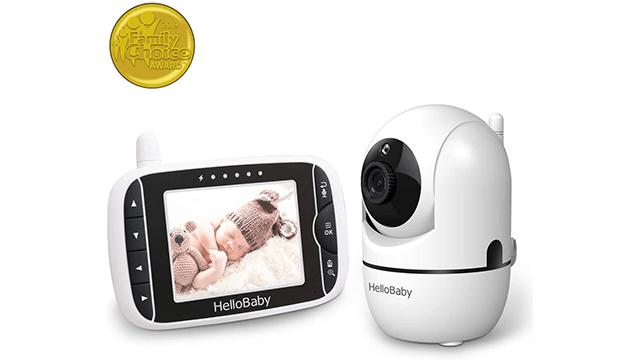 Hello Baby Best 2 Camera Baby Monitor on Amazon