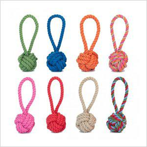 Cotton Rope Tug and Toss Dog Toy
