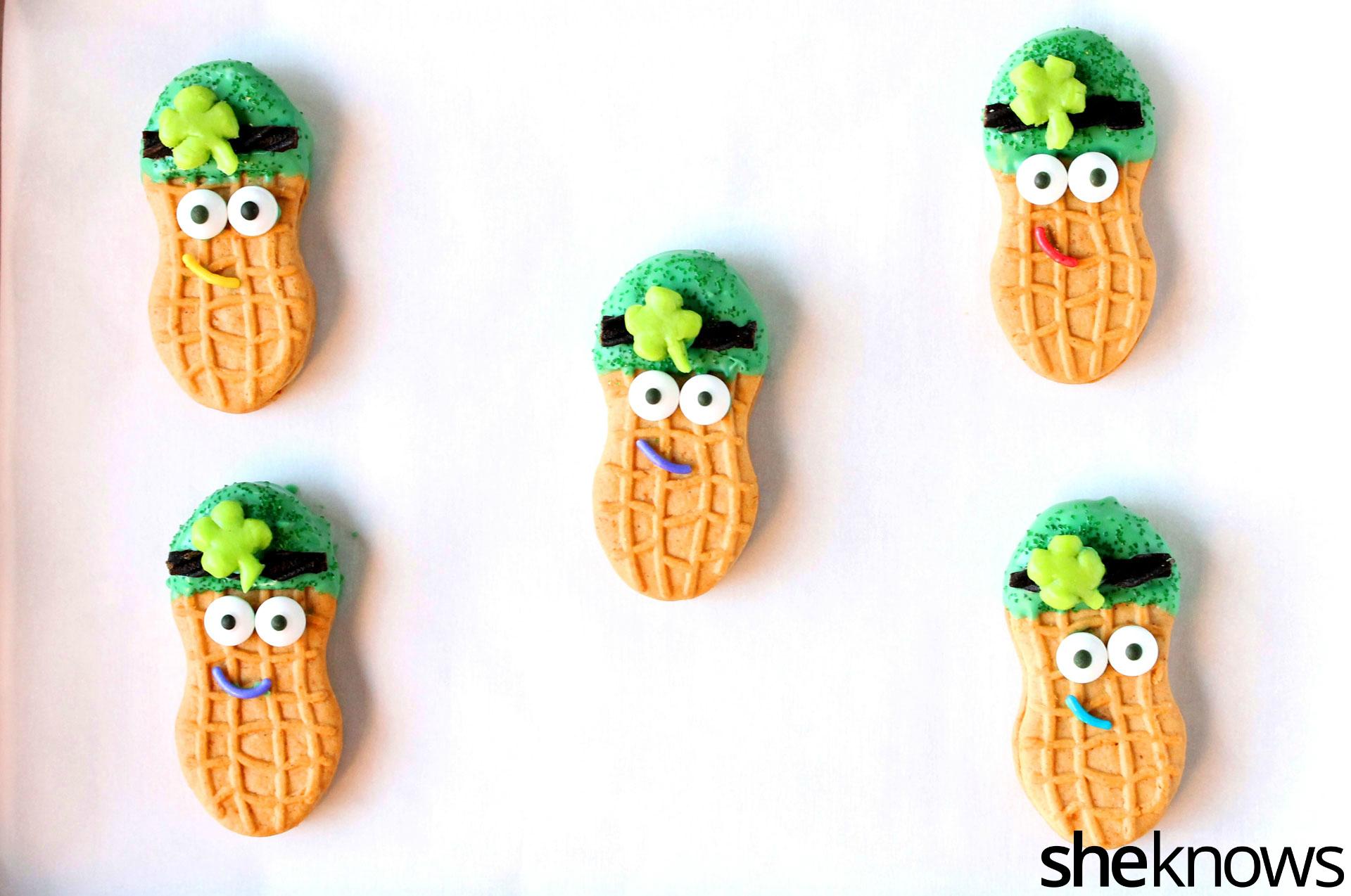 leprechauns on cookie sheet