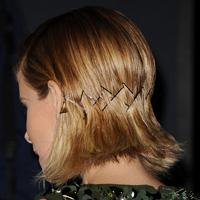 Kate Mara's sleek bobby pins
