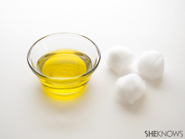 Olive oil soak