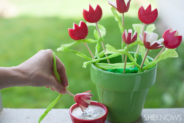 These tulips are good enough to eat