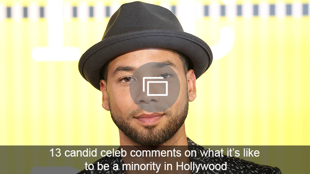 celebs minority quotes slideshow
