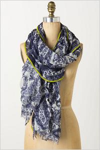 spring-inspired scarf(Anthropologie, $48)
