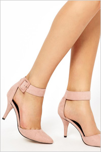 Safe And Sound Pointed Heels (ASOS, $58.08)