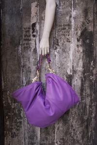 purple Elefante handbag by Arnoldo][Battois