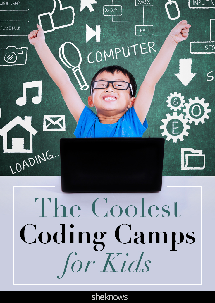 Coding camps for kids