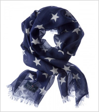 navy scarf by Lexington Clothing Co.