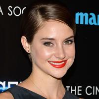 Shailene Woodley's Divergent premiere makeup