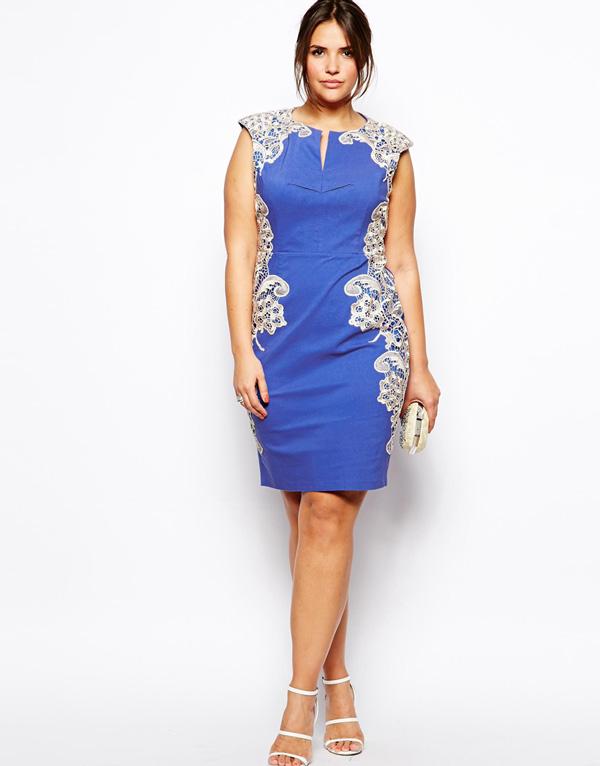 Baby blue dress for a summer wedding