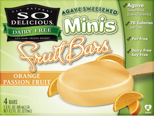 So Delicious Agave Sweetened Fruit Bars