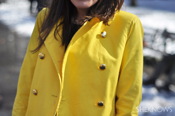 You can't help but feel inspired when you wear a sunny yellow.